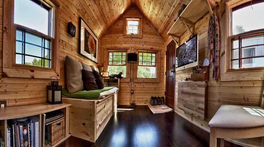 Tiny House Trailer Interior the tiny tack house, of the tiny house movement | news | ecohome