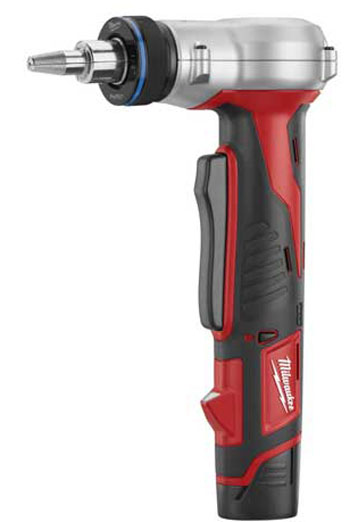 Milwaukee expander tool for uponor hepex and aquapex for Pex plumbing pro e contro