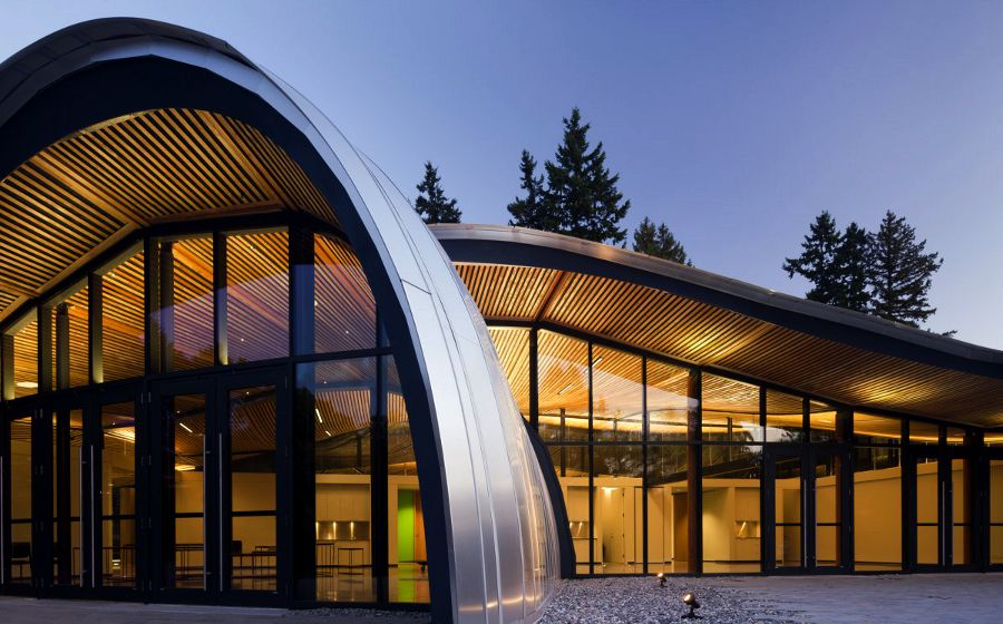 The VanDusen Botanical Garden Visitor Centre via Perkins & Will