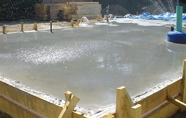 Step by step guide for slab-on-grade home construction