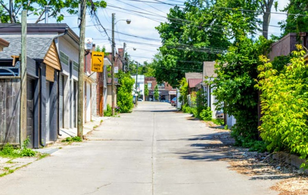 Ontario's new building-codes for Legal Laneway Homes Toronto