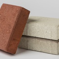 Reduced carbon concrete Patio blocks and CMU