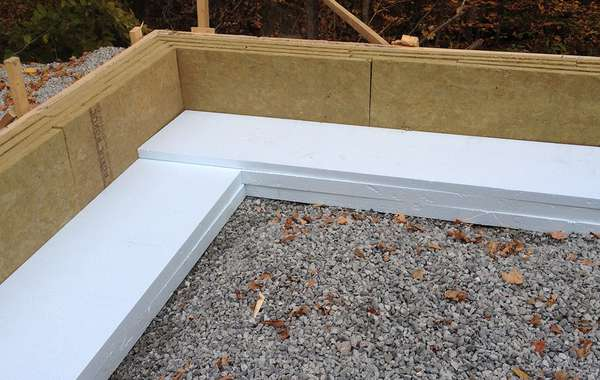 How to Fasten Cement Board Facing to slab on grade insulation