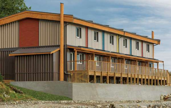 Multi-unit Passive House for Heiltsuk First Nation on Campbell Island,