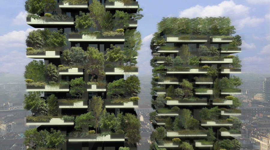 Bosco Verticale, The World's First Vertical Forest