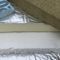 Installing foam panels in ceiling