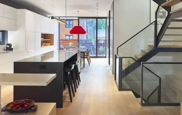Skygarden House home renovation in Toronto, Canadian Green Building winner