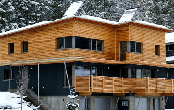 First Passive House in BC Whistler