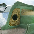 Earthship in Taos, New Mexico, shame they don't work in cold climates