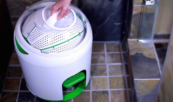 Drumi the foot pedalled washing machine that makes laundry off-grid oh
