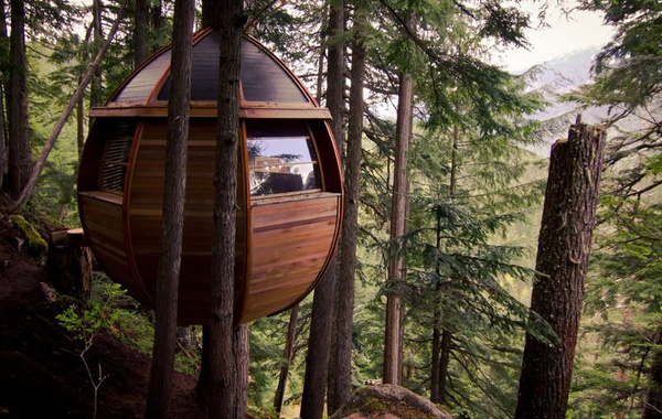 The Hemloft, Joel Allen's secret treehouse near Whistler, BC