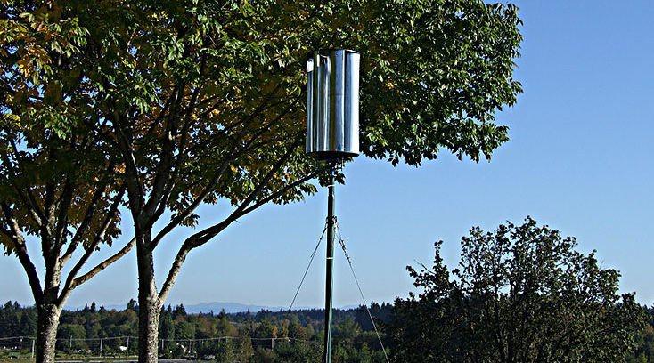 DIY Vertical Wind Turbine Design