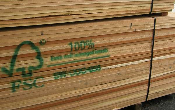 FSC certified wood carries the FSC certification labels