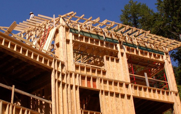 Interior sheathing as air & vapor barriers in wood frame construction