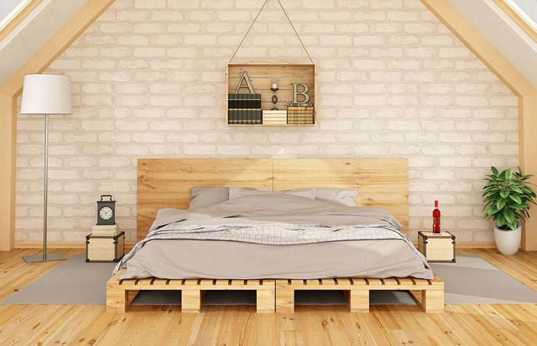 Pallet beds are trending but pallets can be toxic so be careful