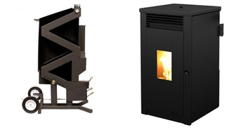 Wood pellet stoves that don't need electric ideal for off grid operation