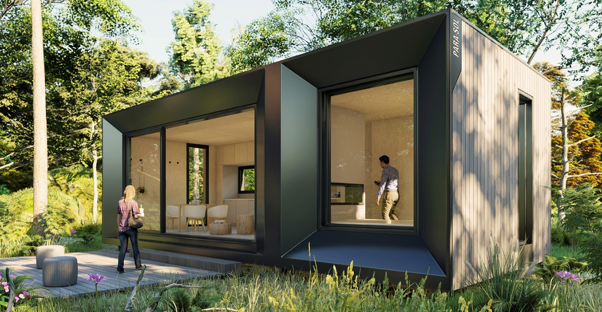 Architect Designed Modern Green Prefab Tiny House Kit Home Ecohome