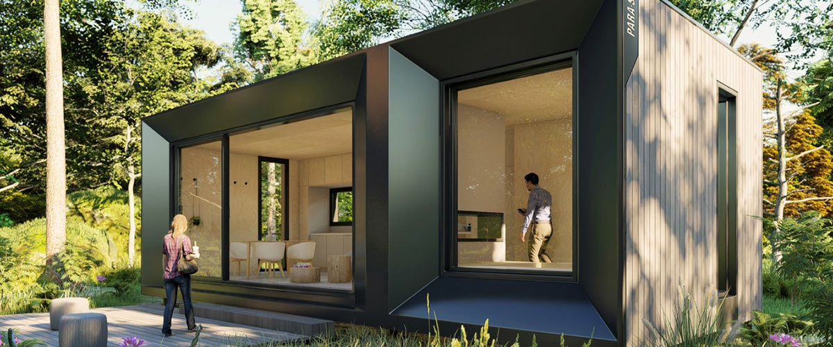 Le Refuge - An Architect-Designed Modern Green prefab tiny house kit home