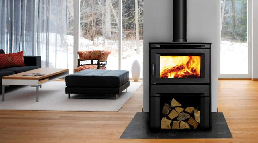 High efficiency wood stoves