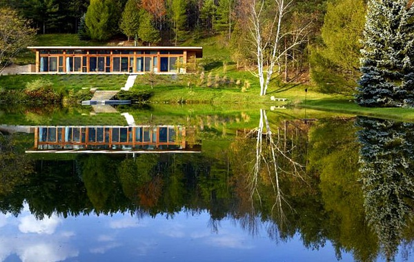 Beautiful LEED home in Mulmur, Ontario.