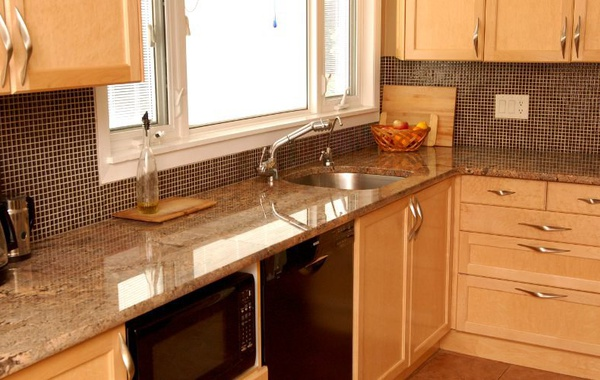 custom kitchen renovation by River Woodworks