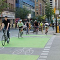 Bike lanes in Vancouver