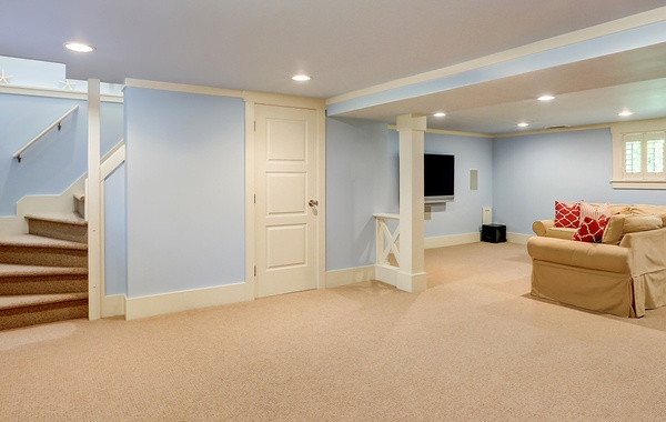 Finished basements can lead to mold and mildew