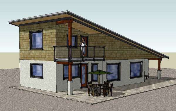 Passive House on a Budget - The Damn Near Passive house