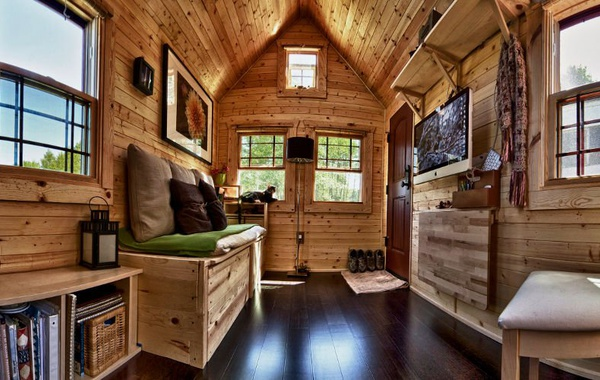 Tiny Tack House living room