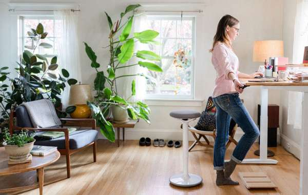 Healthy Home Offices - Natural Biophilic Design Ideas