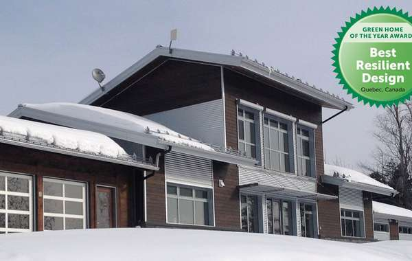 Passive Solar Home design at it's best - Kenogami House - EcoHome