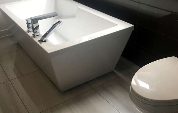 Water efficient bathroom fixtures