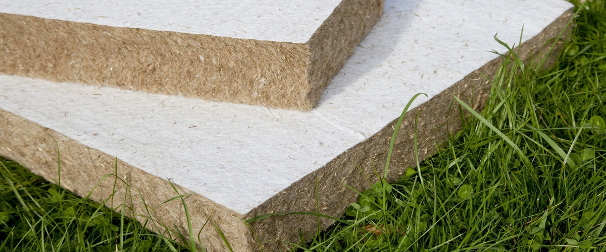 Natural Building Insulation Made of Grass - Eco-friendly, Green