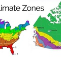 Building Climate Zones USA & Canada Maps Help with Specification of Homes