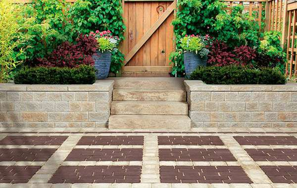 Permeable interlock pavers & paving stones