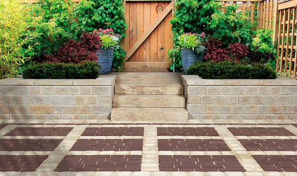 Permeable interlock paver stones