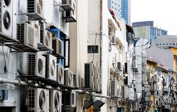 Reducing the need for air conditioning