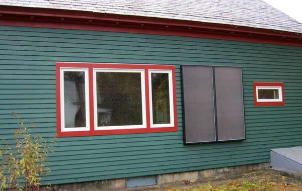 Solar Air Heating Panels for Homes - How to Build DIY
