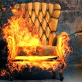 Fire retardants in furniture are intended to slow flames