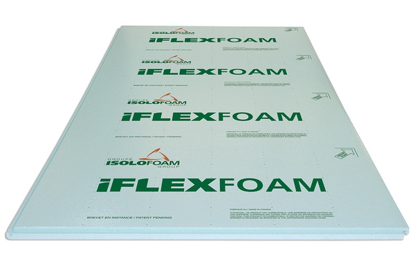 Isolofoam iFLEXFOAM underslab Insulation panels