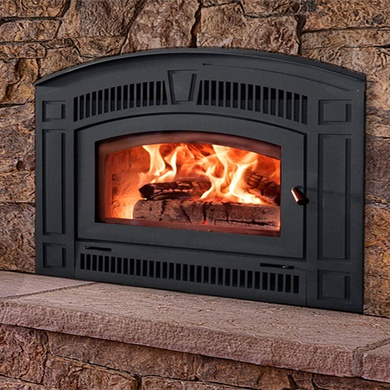 Pearl wood-burning fireplace from RSF Fireplaces
