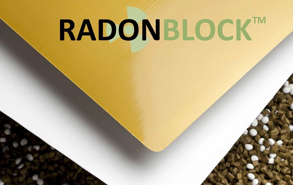 Radon Block under-slab gas barrier