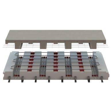 EPS-Deck concrete deck forming system for ICF floors, roofs and deck by Legalett - How it works