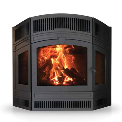 Delta Fusion Wood-burning fireplace