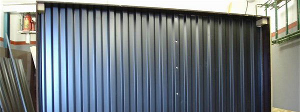 Passive Solar air Heater using corrugated Metal roofing Sheet