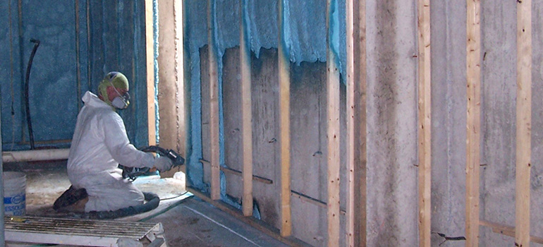Preventing mould when you insulate your basement ecohome spray foam on basement walls bala structures solutioingenieria Gallery