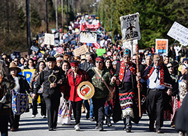 First Nations Opposition to Trans Mountain Pipeline - Earth Day 2020 50 Year Anniversary Ecohome