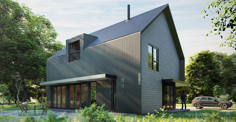 LEED Prefab kit house available for purchase through Ecohome