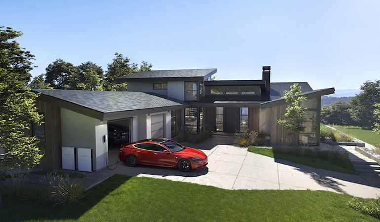 Tesla Solar roof now available in US and Canada