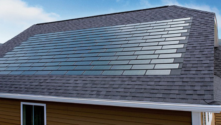 DOW Powerhouse solar shingles from RGS Energy